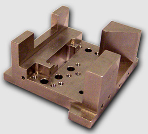 copper cnc machining