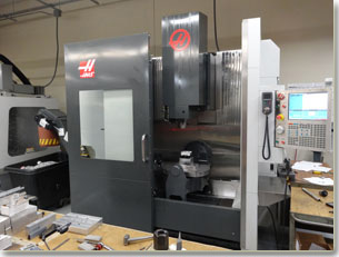 5 axis machining shop
